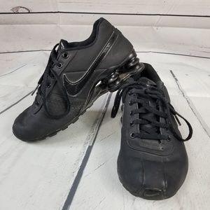 NIKE SHOX sneakers 615981-002 black 3.5Y